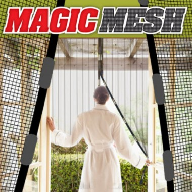 Антимоскитная магнитная штора сетка Magic Mesh Plus 210x100см Original (FS1014)