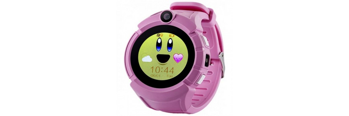 Смарт-часы с GPS Baby Watch Q610S Розовые