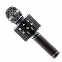 Беспроводной микрофон для караоке Wster WS858 Black NEW Oridginal (FS1016)